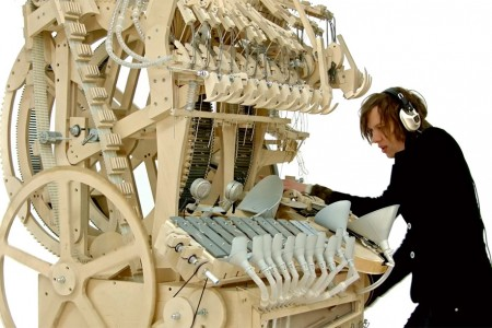 A music instrument called Marble Machine