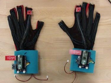 手語翻譯手套,讓手語會說話